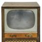 """Televisor Valvulado PHILIPS Console de Madeira e Tubo de 21"""", Original de 1955"""