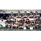 Faixa ORIGINAL Distribuída pela TV e Rádio Globo Aos Jogadores do FLAMENGO Campeões da Taça Guanabara de 1972