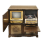 TV Radio ADMIRAL Console Combination, Estados Unidos, Ano 1950