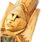 Arte Indígena Brasileira:  Máscara de Madeira