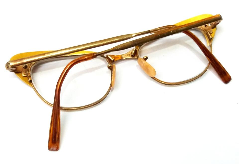 64bddb362 Óculos Antigo ARMAÇÃO Original dos Anos 1970 - Antiguidades CASA DO ...