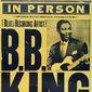 Cartaz ORIGINAL do Rei do Blues B.B. KING South American Tour 2010