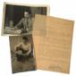 REPÓRTER ESSO Treze Fotografias ORIGINAIS e Carta Datilografada e Assinada de GONTIJO TEODORO Radialista e Apresentador