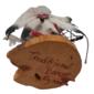 Arte Indígena : Escultura Nativos Norte-Americanos Boneco KACHINA Eagle Dancer