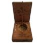 Relógio de Sol de Bolso MEDIANA IS João da Silva Final do Séc. XIX