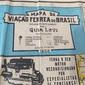 MAPA DA VIAÇÃO FÉRREA DO BRASIL Organizado Especialmente Para o GUIA LEVI, São Paulo, Ano 1958