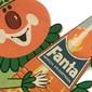 Propaganda do Refrigerante FANTA LARANJA Original dos Anos 1960