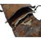 Bolsa Feita Com Pele e Cabeça Originais de CROCODILO ANÃO Da Africa Ocidental, Meados do Século XX