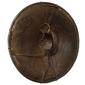 Escudo de COURO DE HIPOPÓTAMO Original das Tribos do Vale do Rio Omo na ETIÓPIA Original do Século XIX