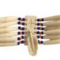 Gargantilha de OSSO ESCULPIDO Original dos Povos Nativos Americanos
