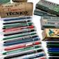 Lote de Materiais Escolares COMPACTOR e FABER-CASTELL Originais dos Anos 1980 e 1990