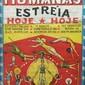 Cartaz ORIGINAL do CIRCO ÁGUIAS HUMANAS de Ivo Janson, Porto Alegre, Meados do Século XX