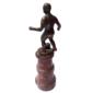 Troféu Esportivo FUTEBOL Sem Gravação, Original de Meados do Anos XX