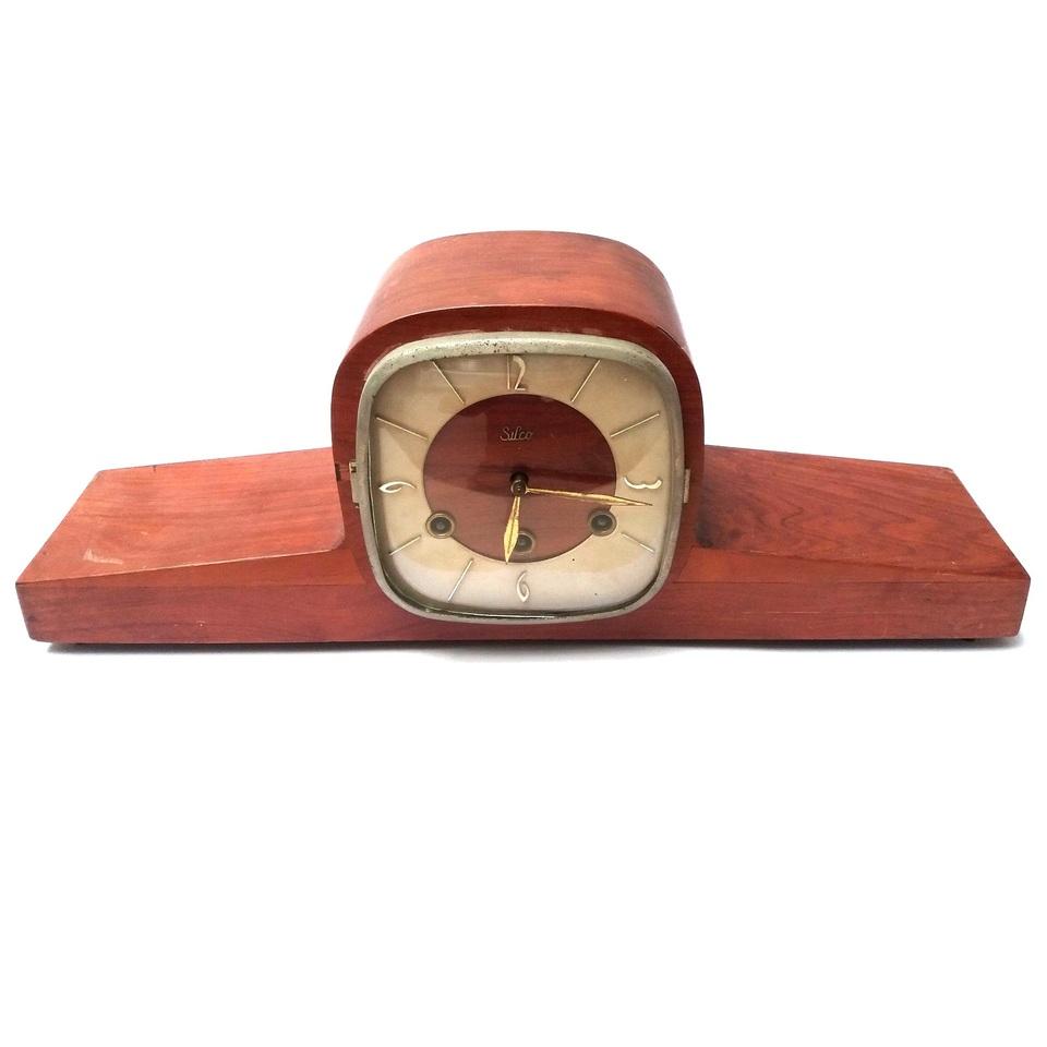150b68d72c9 Relógio Carrilhão de Mesa SILCO Original Anos 1960 - Antiguidades ...