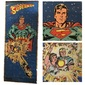 Cartaz SUPERMAN Desenho de Curt Swan, The Origin of Superman, DC Comics 1978, Medindo 2 Metros