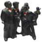 Figuras da Coleção ALL THAT JAZZ, Banda de JAZZ Enesco Parastone, Ano 1990