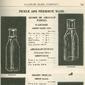 Garrafas e Conserva de ALIMENTOS Originais do Início do Século XX