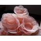 50 Forminhas flor de tela 2 camadas