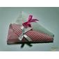 50 Forminhas cone de tecido algodão