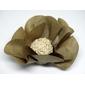 50 Forminhas flor grande papel kraft