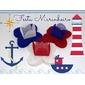 Kit de forminhas festa tema marinheiro