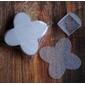 50 Un. Forminhas para Doces 4 Pétalas Caixeta Quadrada em Tela Branca