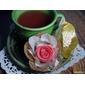 50 Forminhas flor de tela e cetim