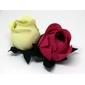 50 Forminhas botão de rosa real