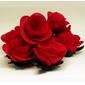 50 Forminhas rosa aberta de tecido