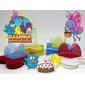 Kit de forminhas festa tema galinha pintadinha