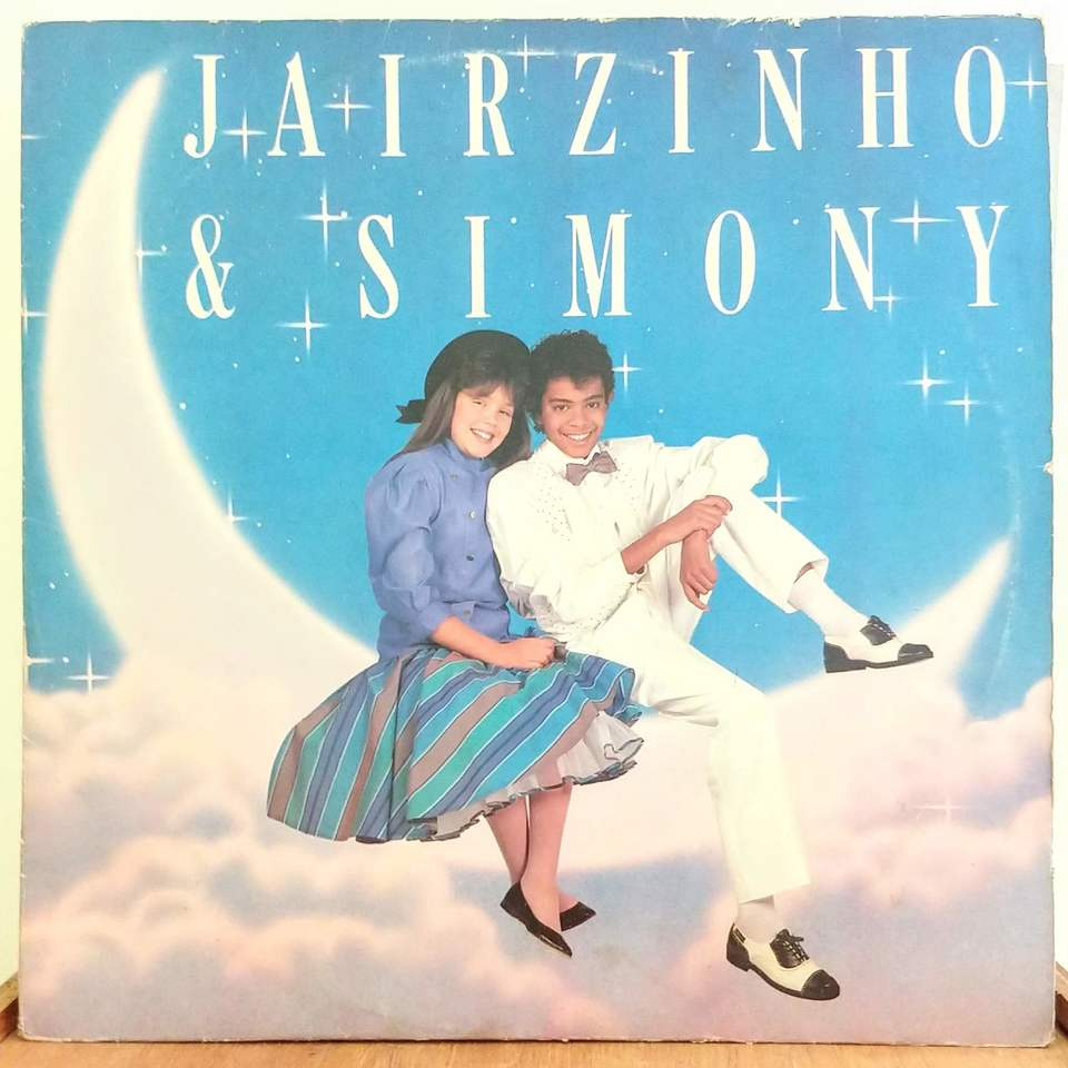 LP Jairzinho & Simony - Jairzinho & Simony (1987) - Vinyl Virtual Shop -  Discos de vinil e CDs