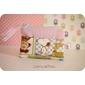 Porta níquel Snoopy rosa  *tecido importado*