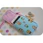 Carteira porta celular bichinhos *tecido importado*