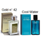 Traduções Gold nº 42 Masculino 100 ml Referencia Olfativa Cool Water
