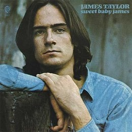 LP JAMES TAYLOR 1971 Sweet Baby James