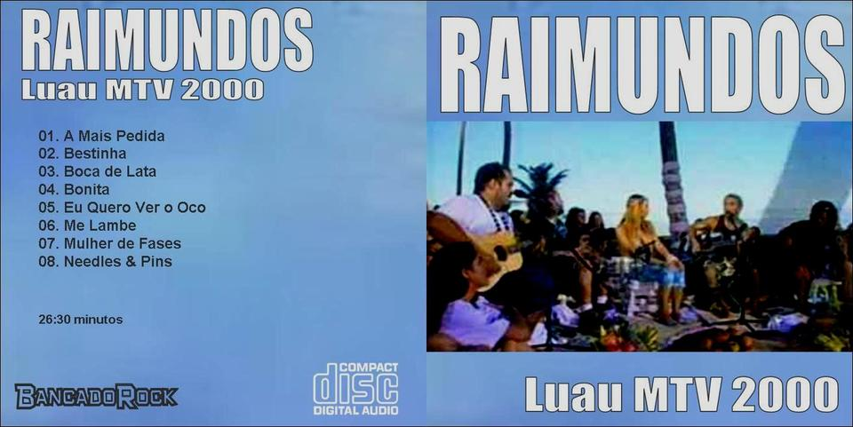 cd raimundos luau mtv