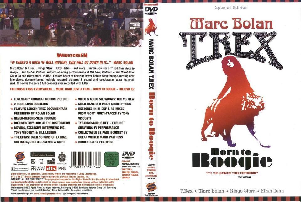 DVD MARC BOLAN & T REX Born To Boogie