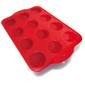 Forma de Silicone p/ Cupcake com 12 cavidades