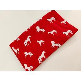 T Shirt Cavalo - Vermelho Quente