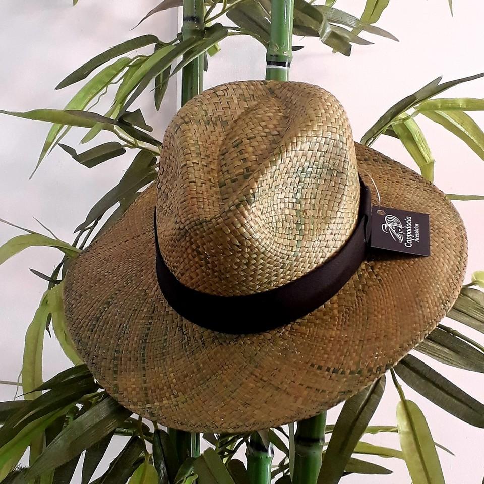 Chapéu Panamá Verde Musgo - Cappadocia Acessórios 84c483f7b9d