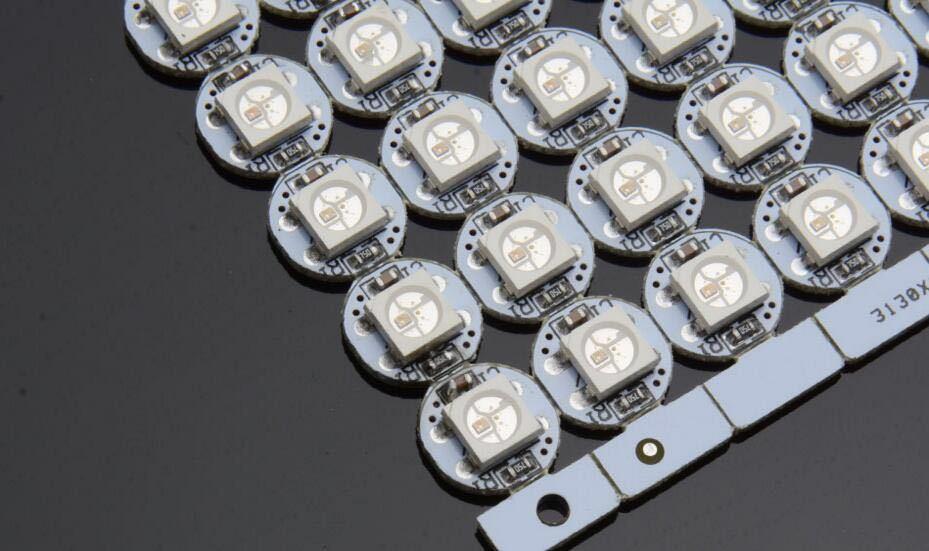 Led Rgb Ws2812b 5050 Com Dissipador X100