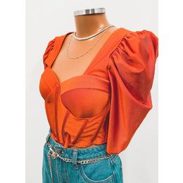 Cropped Ana laranja