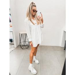 Camisa long branca