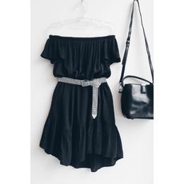 Vestido bata black