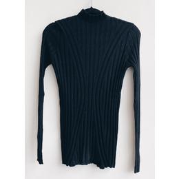 Blusa lã onda black