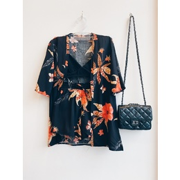 Conjunto Kimono black