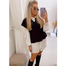 Colete trico black