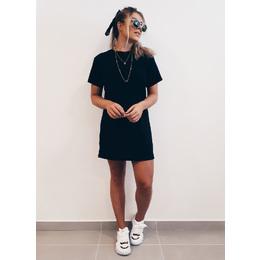 Vestido tee black