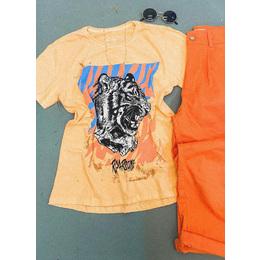 Tee boy Tiger orange