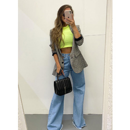 Cropped Anna lima Neon